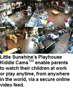 Little Sunshine's Playhouse Kiddie Cams
